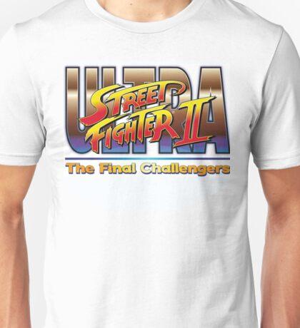Ultra Street Fighter 2  Unisex T-Shirt