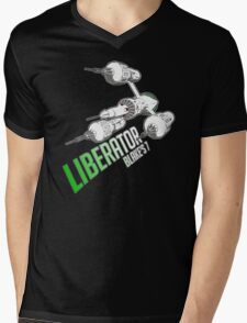 Blake's 7 - LIBERATOR Mens V-Neck T-Shirt