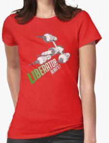 Blake's 7 - LIBERATOR Womens Fitted T-Shirt
