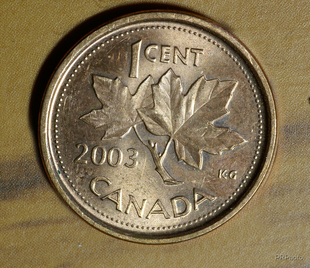 canadian coin by PRPhoto
