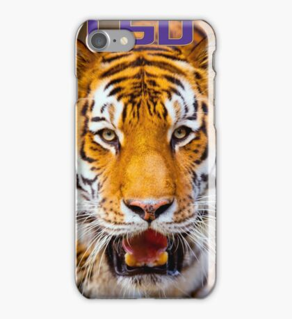 LSU Tiger iPhone Case/Skin