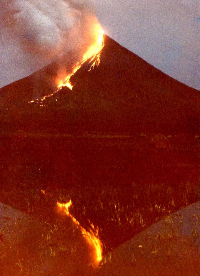 Volcanic Eruption In Manilla by Rhapsody