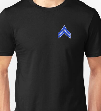 Police Corporal Unisex T-Shirt