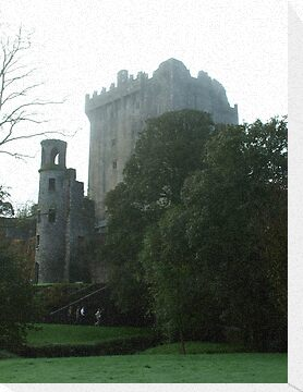 Blarney Castle in  the Mist by Margaret Zita Coughlan