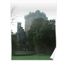 Blarney Castle in  the Mist Poster