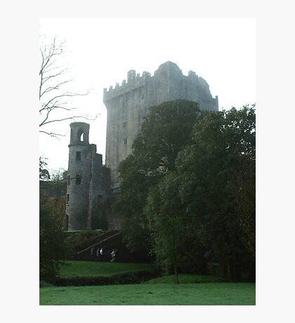 Blarney Castle in  the Mist Photographic Print