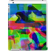 Blue Howl Glitch. iPad Case/Skin