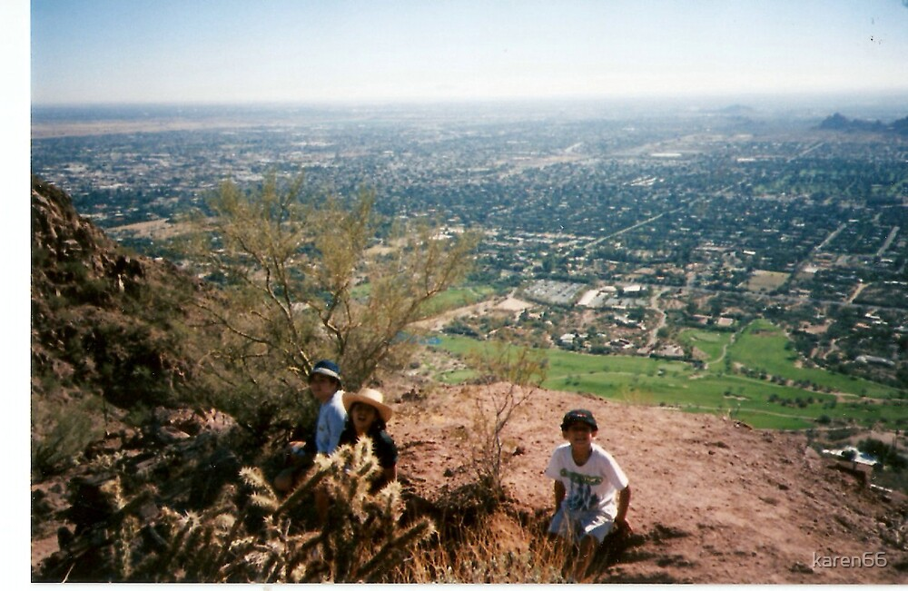 Kids On Camelback Mountain by karen66