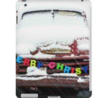 Driving into Christmas iPad Case/Skin