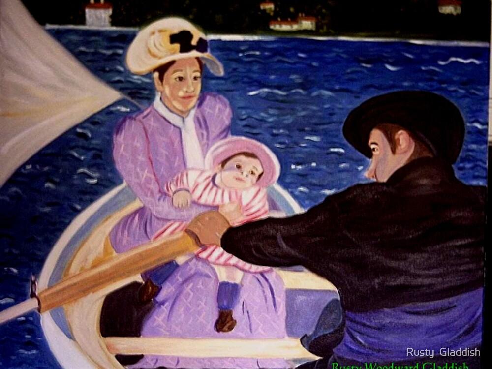 The Boat Trip by Rusty  Gladdish