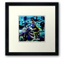 BatCycle Framed Print