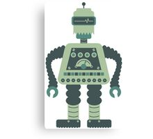 Digital Robot Canvas Print