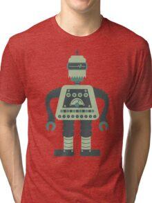 Digital Robot Tri-blend T-Shirt