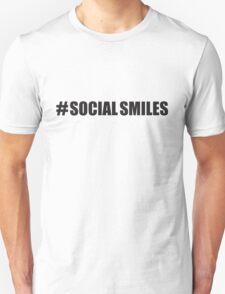 #SOCIALSMILES - PLATFORM58 Unisex T-Shirt