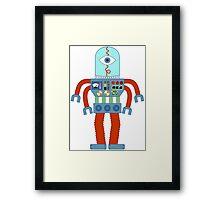 Eyeball Robot Framed Print