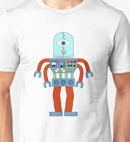 Eyeball Robot Unisex T-Shirt