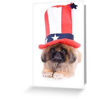 American Dog Greeting Card