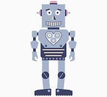 Heart Gear Robot Unisex T-Shirt