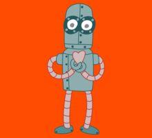 Robot Valentine Kids Tee