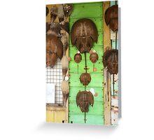 Horseshoe Crabs Greeting Card