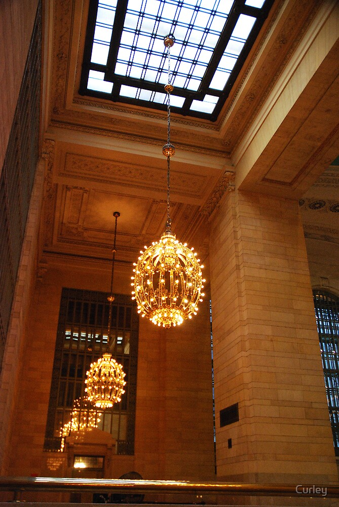Lights of Grand Central by Curley
