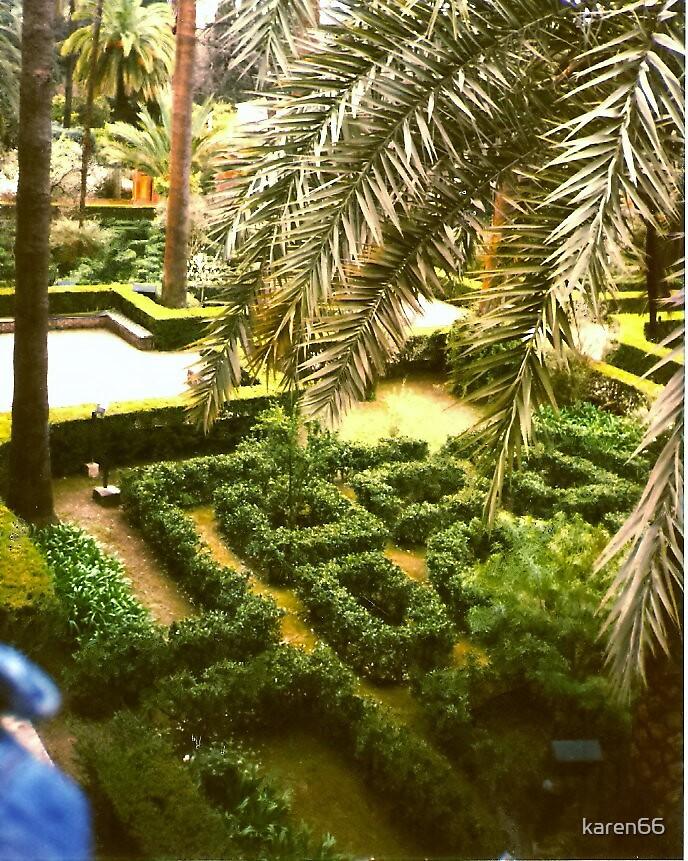 Spain The Alhambra Maze by karen66