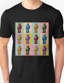 Pop Art Robots Unisex T-Shirt