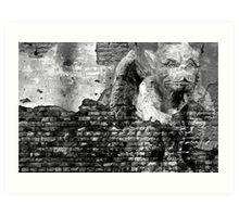 The Gargoyle Art Print
