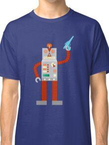 Raygun Robot Invasion Classic T-Shirt