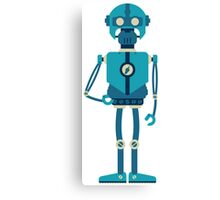 Runner Robot Canvas Print