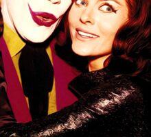 Joker and Catwoman Sticker