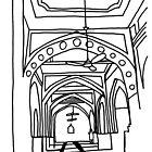 Mosque Interior by John Douglas