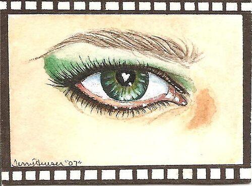 Love in my eye by artwoman3571