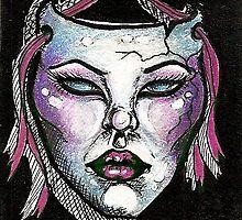 Purple Mask by artwoman3571