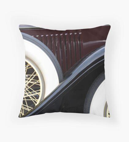 Old Cadillac Throw Pillow
