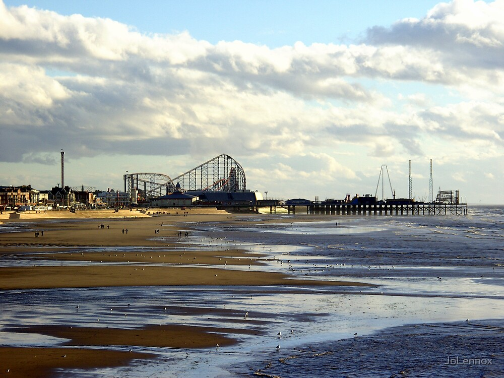 South Pier Blackpool by JoLennox