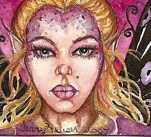 purple fairy by artwoman3571