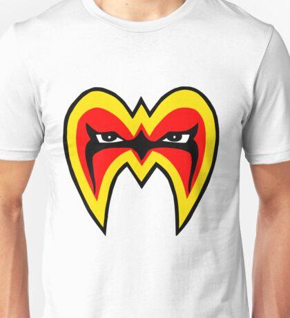 Ultimate warrior mask Unisex T-Shirt