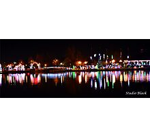 Christmas Lights in Lafreniere Park Photographic Print