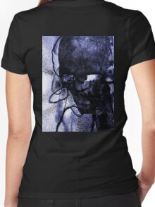 Mental Monsters pt1 no.2 Women's Fitted V-Neck T-Shirt