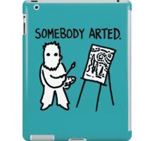 Van Gogh Somebody Arted iPad Case/Skin