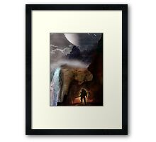 The Waterfalls Framed Print