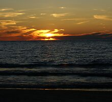 Lake Michigan Sunset by Brad