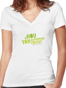 for uni Women's Fitted V-Neck T-Shirt