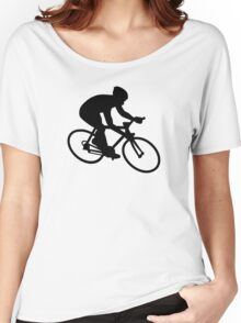 Cycling race Women's Relaxed Fit T-Shirt