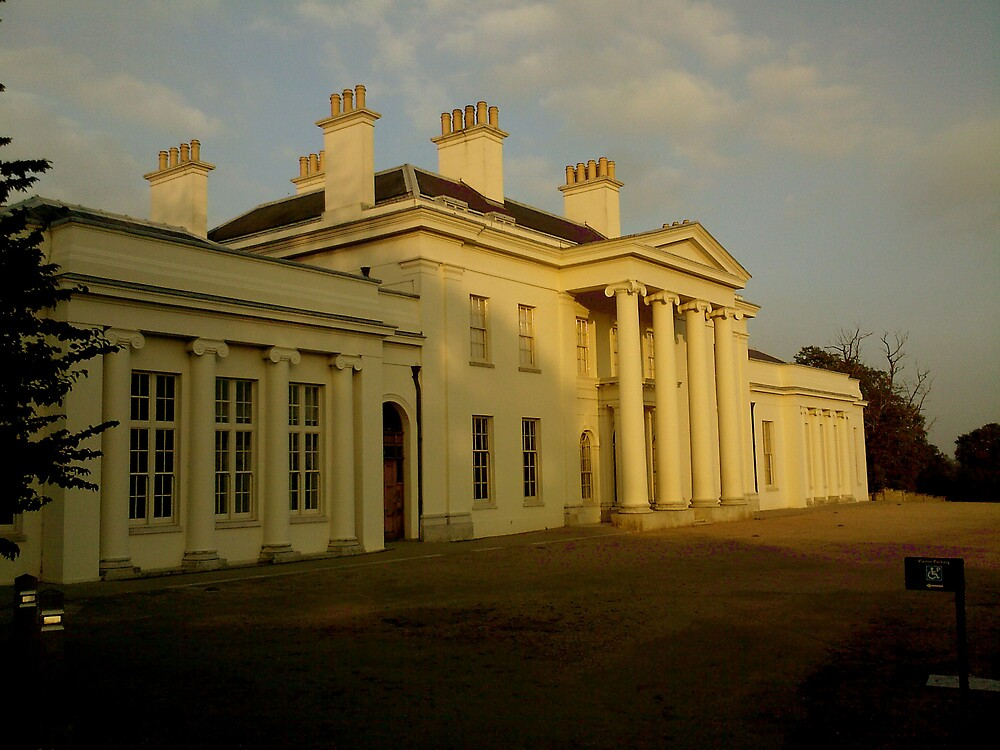 Hylands House by Stuart  Milton