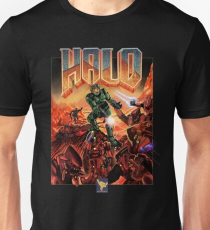 Halo-Doom Unisex T-Shirt