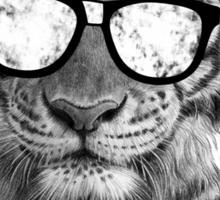 Be Tiger Smart Sticker