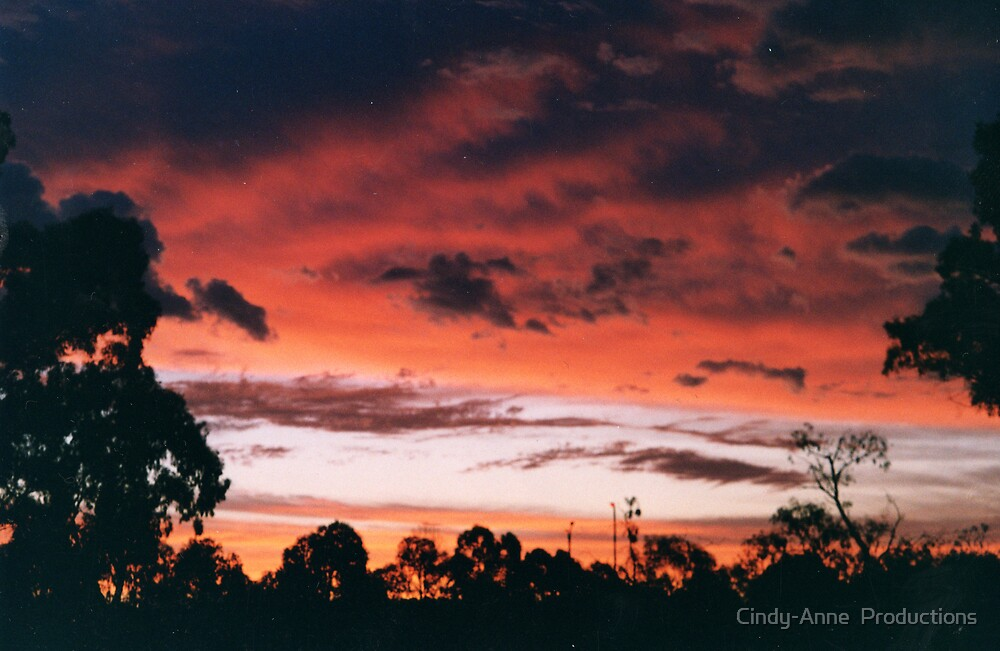 Suburban sunset 3 by Cindy-Anne  Productions