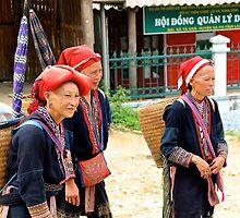 The Yao Ladies - Sa Pa, Vietnam. by Tiffany Lenoir